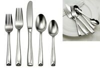 Oneida 45 Piece Linden Service For 8 Stainless Flatware on sale