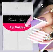 Nail Art Sticker French Tip Manicure Guides Stickers BARS (DF10)