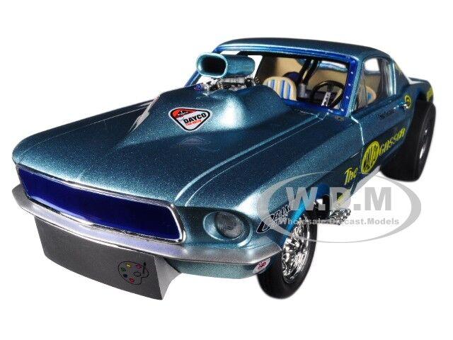 1967 Ford Mustang Malco Gasser Limited 900 piezas 1 18 Diecast Modelo Coche por GMP 18879