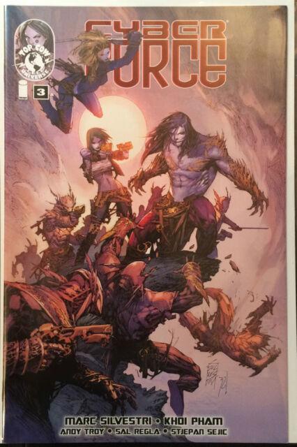 Cyber Force #3 (2012) NM- 1st imprimé Image Comics