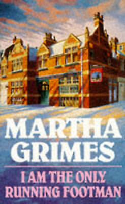 """AS NEW"" I am the Only Running Footman, Grimes, Martha, Book"