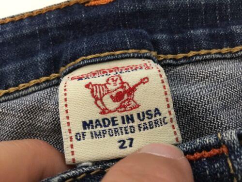 Stretch femmes Johnny Slim pour W27 Jeans True L28 Religion Leg wRYqf