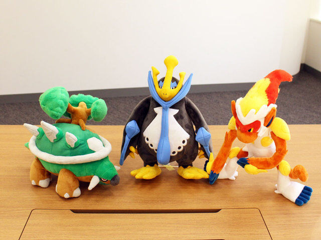 Pokemon Center Original Movable Movable Movable Plush Doll Infernape (Goukazaru) FREE SHIPPING 13b580