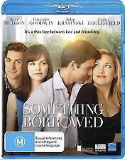 Something Borrowed (Blu-ray, 2011)*Kate Hudson*Terrific Condition