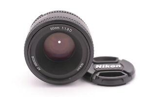 Nikon AF Nikkor 50mm f/1.8D Autofocus Lens for Nikon DSLR Cameras 18208021376