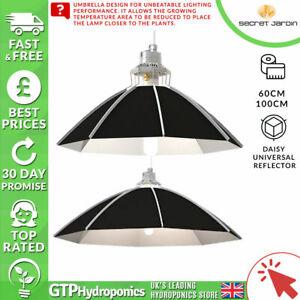 Secret Jardin-daisy Uni Réflecteur - 60 Cm/100 Cm-grow Light Tente Culture Hydroponique-afficher Le Titre D'origine éConomisez 50-70%