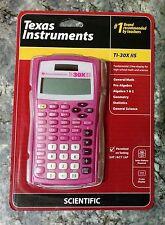 NewTexas Instruments TI-30X IIS 2-Line Solar Scientific Calculator,Pink