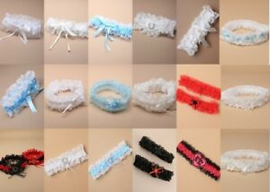 Elasticated-Garter-Lace-Ribbon-Wedding-Hen-Night-Prom-Party-Costume-Wholesale