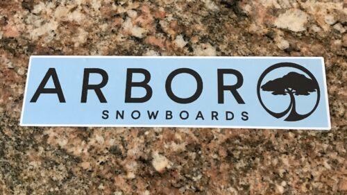 Snowboard Sticker Arbor Snowboards Ski Snow Mountain Sports