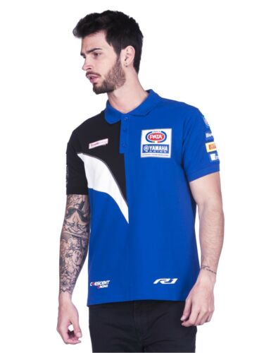 Official Crescent  Yamaha Pata Racing Team Polo Shirt 17 17016