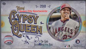 2018 Topps Gypsy Queen Baseball Factory Sealed Hobby Box