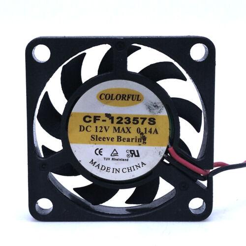 7mm slim mini small fan 3.5cm 3507 12V ultra-thin silent fan CF-12357S cooling