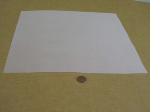 """Delrin Acetal Sheet White POM .003/"""" Thick x 12/"""" Width x 12/"""" Length"""