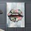 1 Piece printed Painting Bouquet Lips Canvas Art Canvas Wall Art