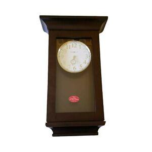 NEW Howard Miller Gerrit 625-379 Wall Clock Dual Chime Westminster Ave Maria