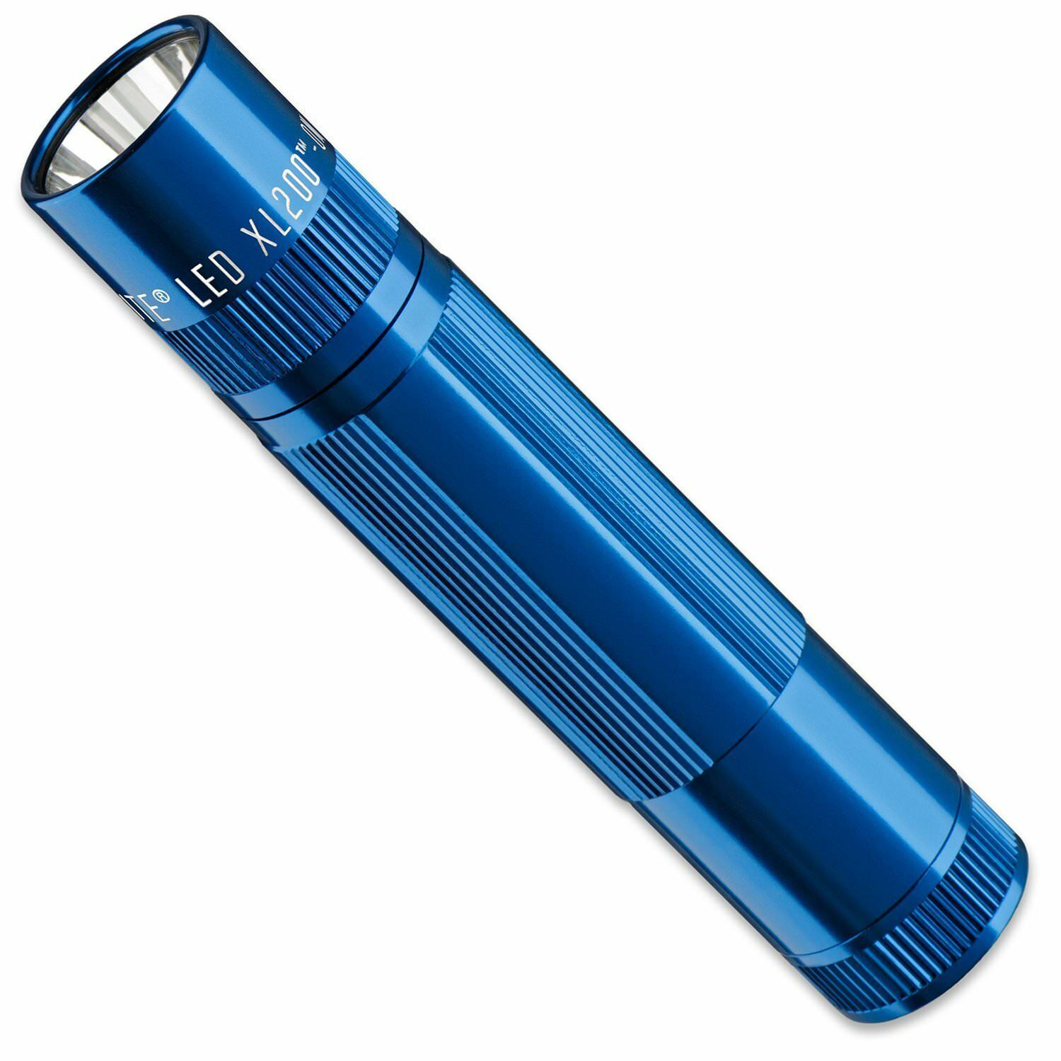 Maglite XL200S3116 LED Flashlight, XL200, 3-Cell, bluee
