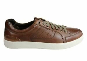 NEW-DEMOCRATA-JETT-MENS-LEATHER-LACE-UP-CASUAL-SHOES-MADE-IN-BRAZIL