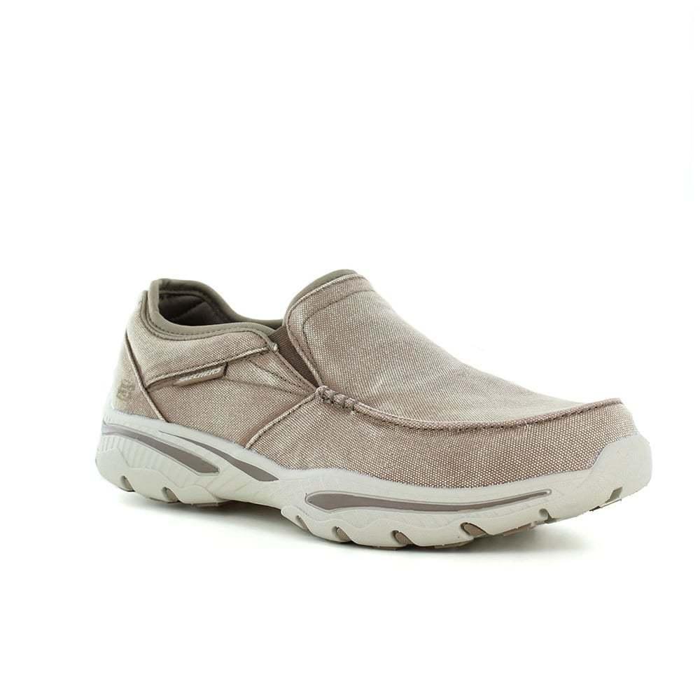 Zapatos promocionales para hombres y mujeres Skechers Creston - Moseco - Light Brown
