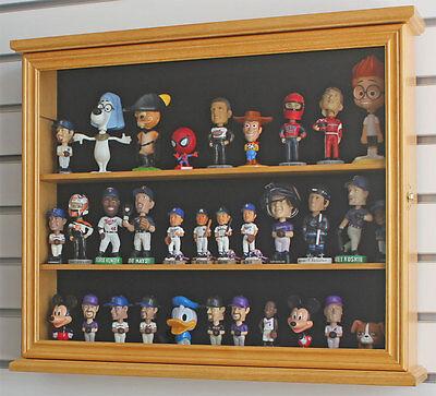 Bobble Head Bobblehead Doll Model Action Figure Cabinet Display Case Wall Rack