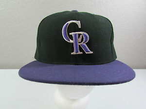 release date: 08fbe 79df8 Image is loading New-Era-5950-MLB-Colorado-Rockies-Baseball-Black-