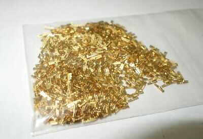 1oz High End Gold Plated Scrap Recovery Fine Pins    FREE SHIP BB1 ZZ1