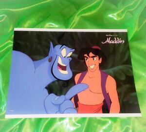 Authentic Walt Disney World Aladdin 11x14 Glossy Lobby Card 4 Mnt