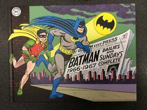 BATMAN-DAILIES-AND-SUNDAYS-1966-1967-cartonato-Cosmo-editoriale