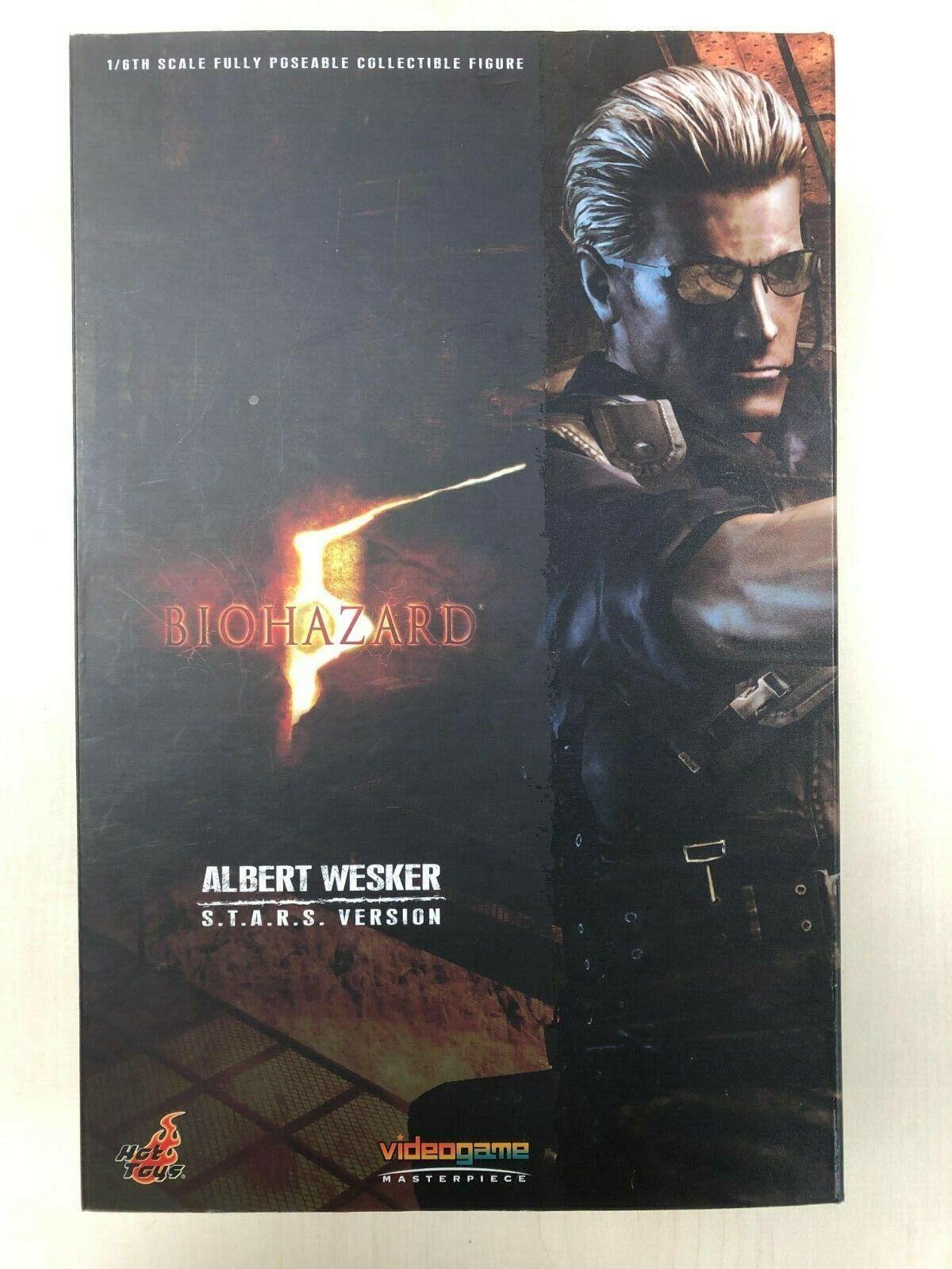 heta leksaker VGM 10 Resident Evil Bio Hazard Albert Wesker (S.T.A.R.S Version) använd