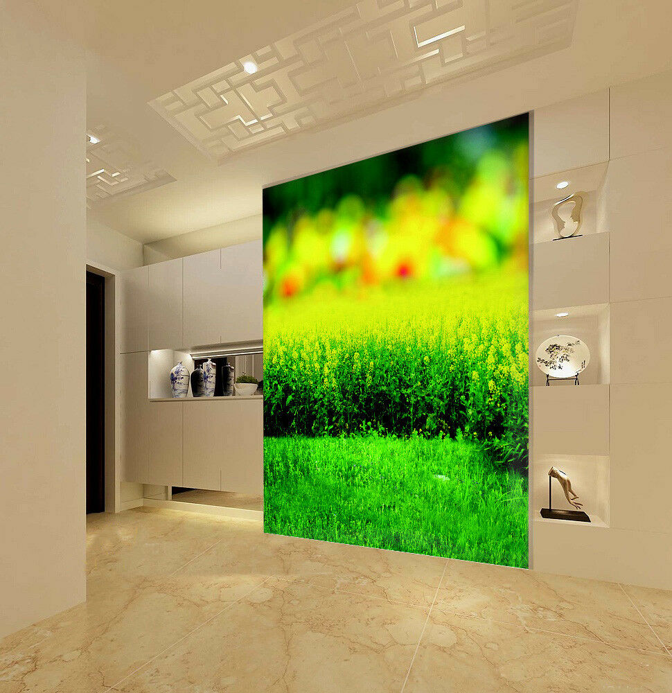 3D gold Green Plant 8 Wall Paper Murals Wall Print Wall Wallpaper Mural AU  Kyra