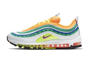 sale retailer 38d2f c9541 Details about Nike Air Max 97 OA On Air: LONDON Summer of Love Multi color  Orange CI1504-100 9