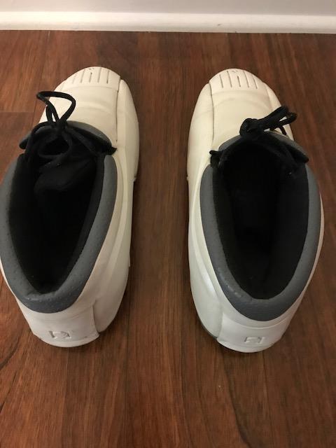 2001 adidas kobe zwei ii 2 weiße perle perle weiße basketball - schuhe in größe 10 selten! 82d95d