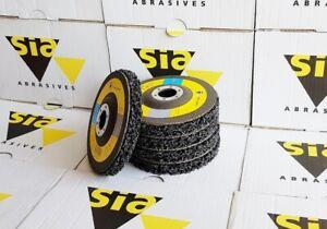 BlueLine-Sia-Grob-Reinigungsscheiben-Reinigungsvlies-125mm-CBS-Nylon