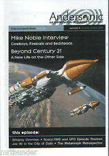Andersonic Issue 08 Gerry Anderson UFO Space: 1999 Stingray Joe 90 Mike Noble