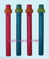 Set Of 4 Cool Gear Water Soda Bottle Gel Squirt Coolers Ice Caps Top Lids Juice