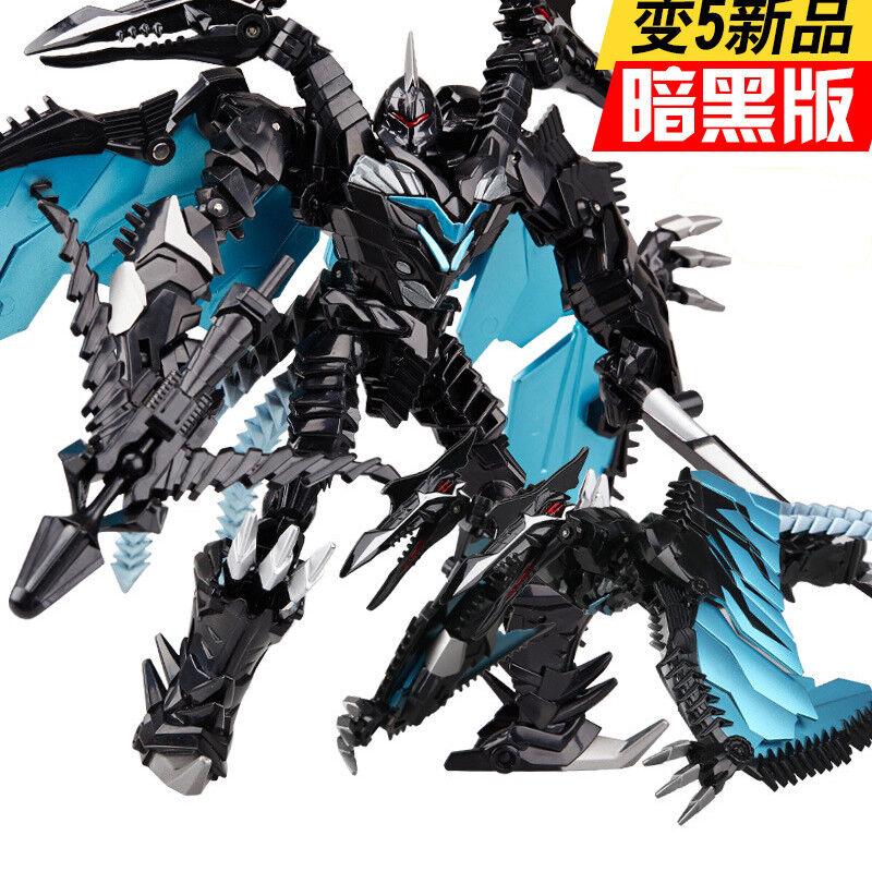 WEIJIANG Dinobots Dark Strafe Ptepinkuria Metal Part Robot Leader Class