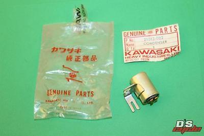 KAWASAKI CONDENSER J1 J1T J1D J1TL J1TR J1TLR 1965//1968-21013-002 NOS//OEM
