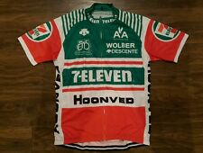 Brand New In Pack Retro Style 7-Eleven Merckx Cycle Jersey Size Extra Large