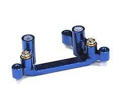 Integy T7649BLUE Billet Machined Alloy Steering Bell Crank Set for AE SC18