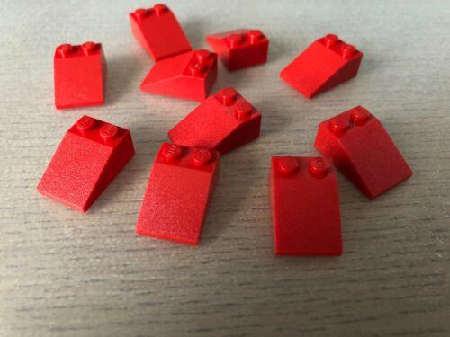 slope 33 2 x 3-3298 LEGO ® 10x Dachstein 33 Grad 2x3 rot 10 Stück
