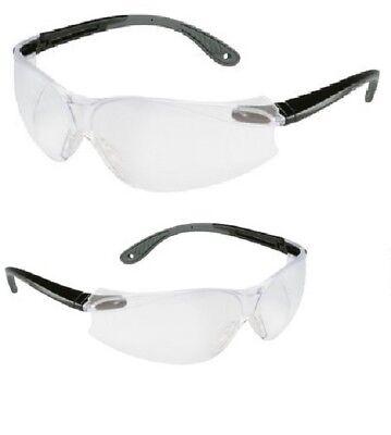 467b634508f 2 Pack 3M Virtua V4 Protective Eyewear 11672-20 Clear Anti-Fog Safety  Glasses