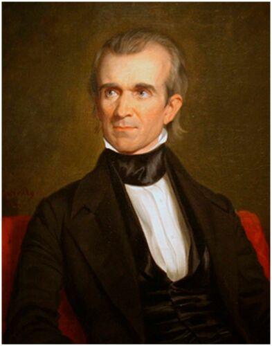 United States Famous Historic Portrait Art Reprint PRESIDENT JAMES KNOX POLK usa