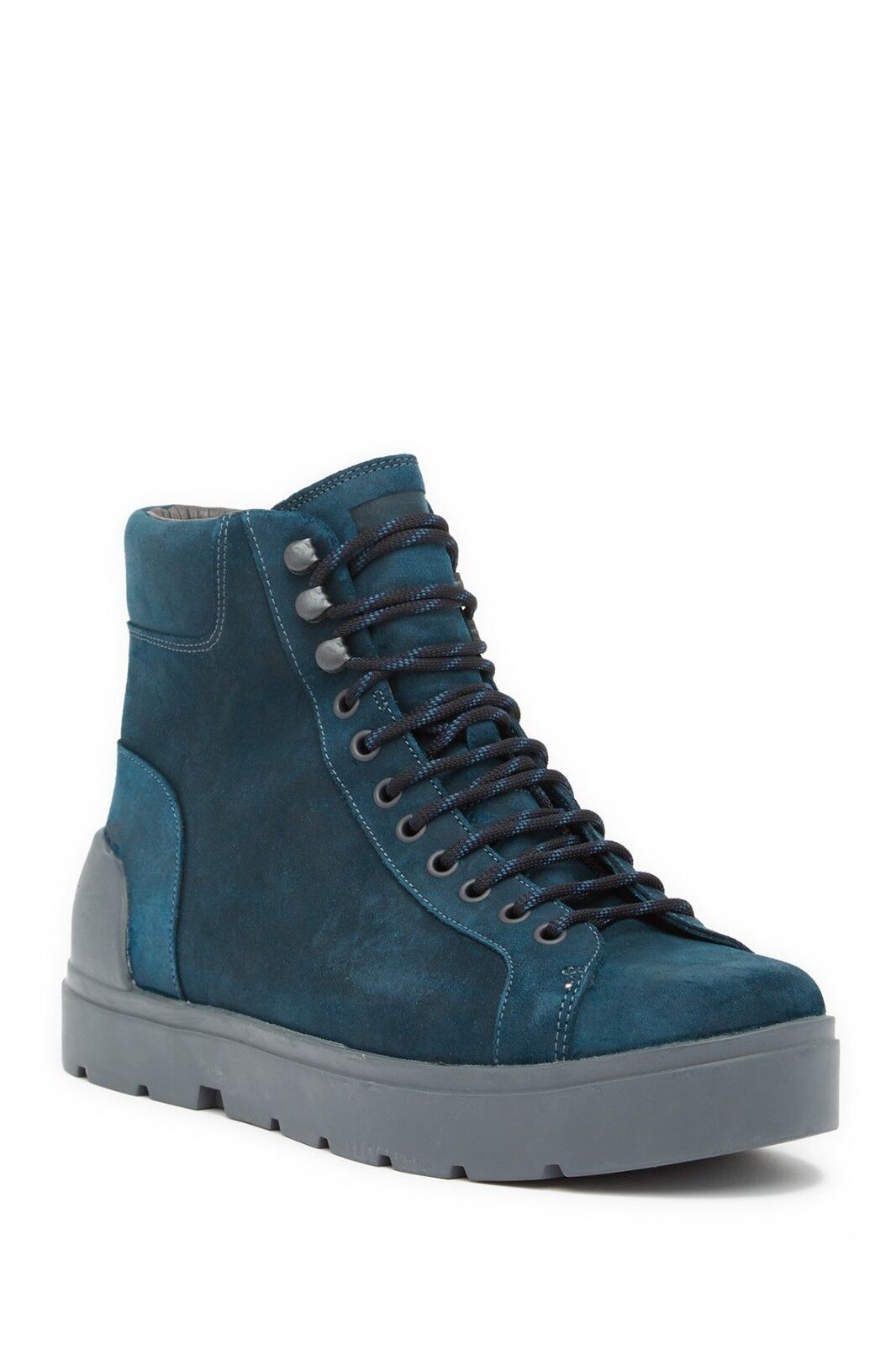 b4c747c924ce0 NEW CAMPER Vintar Lug Boot, Boot, Boot, bluee Green Leather, Women ...