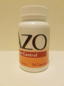 AZO Bladder Control with Go-Less 54 Capsules Expires 03/2021