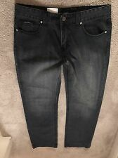 Dolce And Gabbana Men Jeans Size 52 rare bigger plaque model 100% authentic
