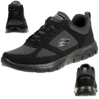 SKECHERS Flex Advantage 2.0 Chillston Herren Sneaker oliv, Größe:44, Farbe:Oliv