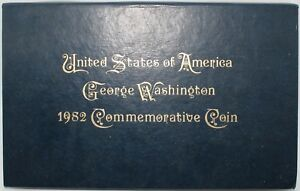 1982-U-S-A-George-Washington-Commemorative-Coin-FDC-Coins-KM-Coins