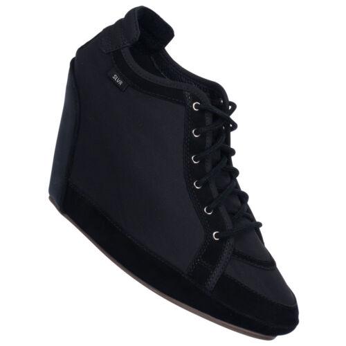 1 von 1 - adidas SLVR Clima Wedge Damen Schuhe G45502 Sneaker Shoe Schwarz Gr. 40 2/3 neu