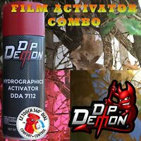 Camo Camoflauge Transparent Background Hydrographic Film Activator Hydro Dipping