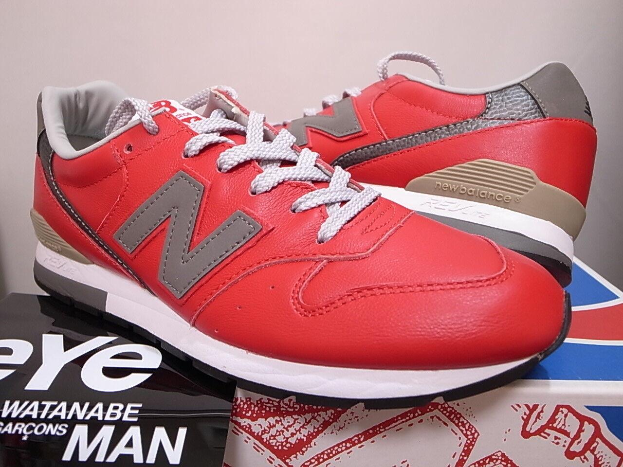 2014 NEW BALANCE x eYe JUNYA WATANABE MAN COMME DES GARCONS MRL996CO RED size 9
