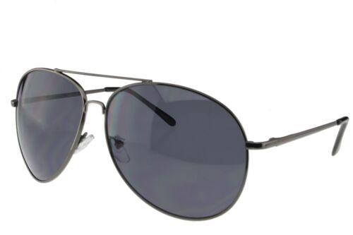 Extra Large Sunglasses Aviator Women Men Oversized Big Gun Frame Gray Lens